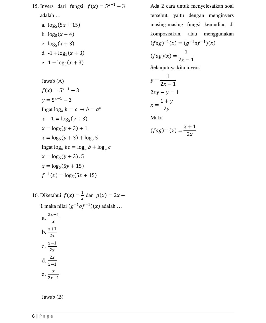 Soal Matematika Kelas 11 Semester 1 Dan Jawabannya : matematika, kelas, semester, jawabannya, Matematika, Wajib, Kelas, Semester, Pembahasannya, Kunci, Dunia