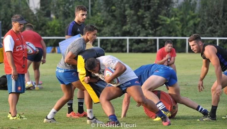 FC Grenoble Rugby Espoirs – Entraînement (2)
