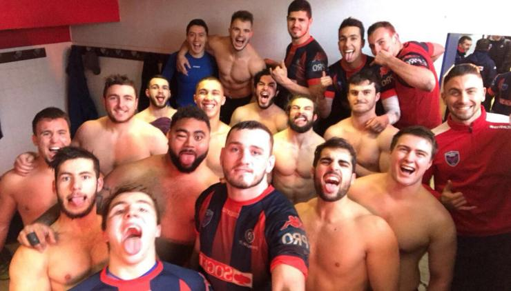 FC Grenoble vestiaire