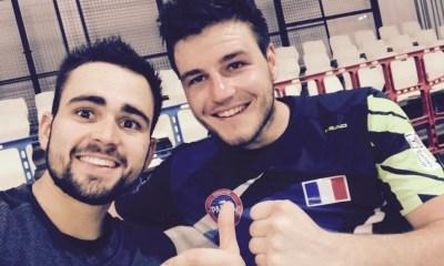 Johan Bergeron & Bastien Blanqué préparation pour la nouvelle saison