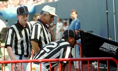 Arbitrage vidéo Football americain