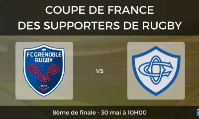 8ème de finale FC Grenoble - Castres Olympique