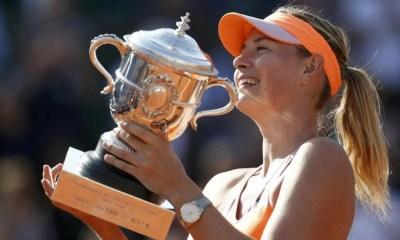 Maria Sharapova Roland Garros