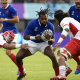 Bleus - Notes XV de France face aux Tonga