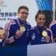 Jeux Militaires de Wuhan - le relais français en eau libre décroche la médaille d'or