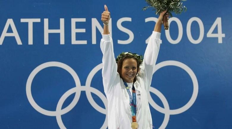 Vidéo] Le jour où Laure Manaudou a décroché l'or olympique à Athènes