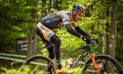 VTT Cross-country - Nove Mesto - Koretzky et Marotte sur la boîte sur la short-track, Ulloa Arevola vainqueur