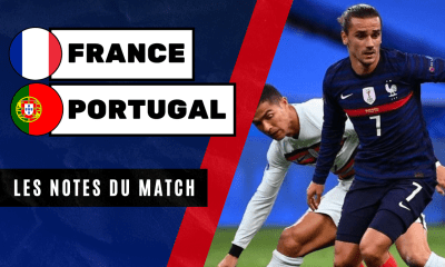 France - Portugal - Les notes du match