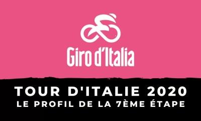 Tour d'Italie 2020 : le profil de la 7ème étape