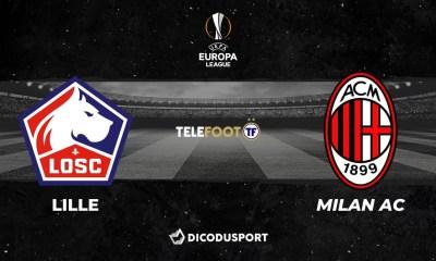 Football - Ligue Europa - notre pronostic pour Lille - Milan AC