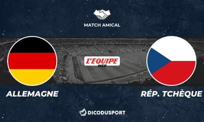 Football - Match amical - notre pronostic pour Allemagne - République Tchèque