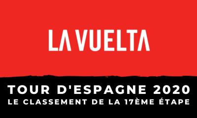 Tour d'Espagne 2020 - Le profil de la 17ème étape