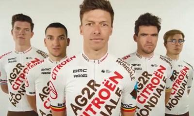 AG2R Citroën Team dévoile ses couleurs et son maillot pour 2021