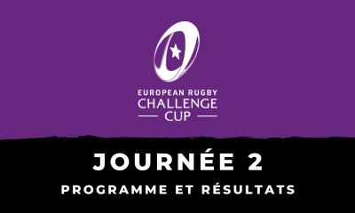 Challenge Cup 2020/2021 - 2ème journée : Programme et résultats