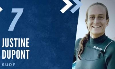 Championne des Championnes françaises 2020 - Justine Dupont (7ème), en haut de la vague