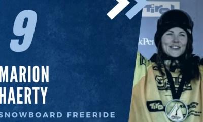 Championne des Championnes françaises 2020 - Marion Haerty (9ème), l'art de la glisse