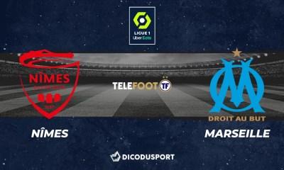 Football - Ligue 1 - notre pronostic pour Nîmes - Marseille