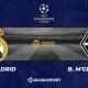 Football - Ligue des Champions notre pronostic pour Real Madrid - Borussia M'Gladbach