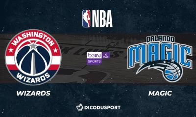 NBA 2020-2021 - Notre pronostic pour Washington Wizards - Orlando Magic