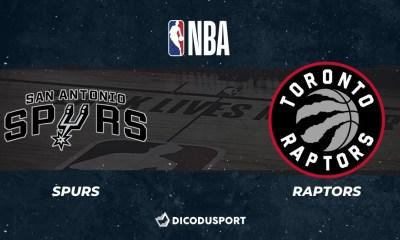 NBA - Notre pronostic pour San Antonio Spurs - Toronto Raptors