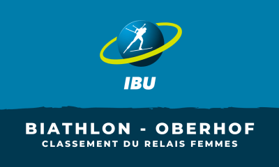 Biathlon - Oberhof - Le classement du relais femmes