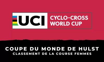 Cyclo-cross - Coupe du monde de Hulst : le classement de la course femmes
