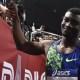 Hugues-Fabrice Zango bat le record du monde de triple saut en salle