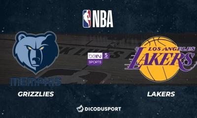 NBA - Notre pronostic pour Memphis Grizzlies - Los Angeles Lakers