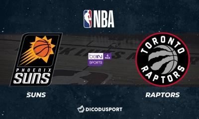 NBA notre pronostic pour Phoenix Suns - Toronto Raptors