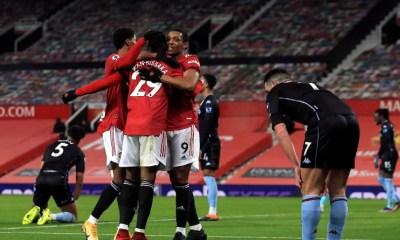 Premier League - Manchester United s'impose face à Aston Villa et rejoint Liverpool