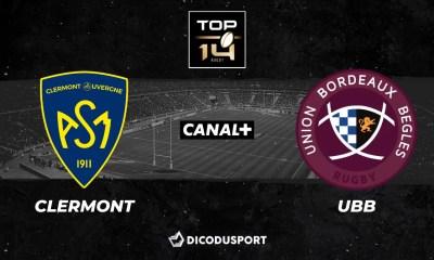 Top 14 - Notre pronostic pour Clermont - UBB