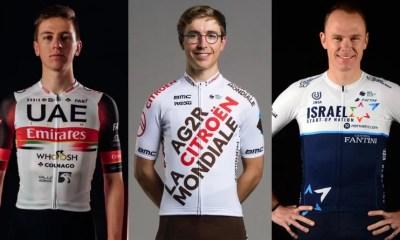 UCI World Tour - Les maillots des équipes pour la saison 2021