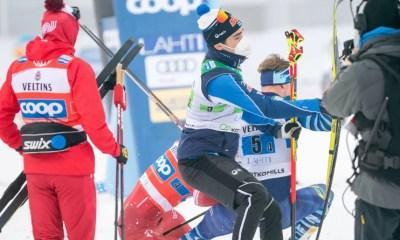 [Vidéo] Ski de fond - L'énorme craquage d'Alexander Bolshunov qui plaque un adversaire