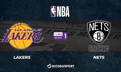 NBA notre pronostic pour Los Angeles Lakers - Brooklyn Nets