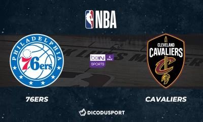 NBA notre pronostic pour Philadelphia 76ers - Cleveland Cavaliers