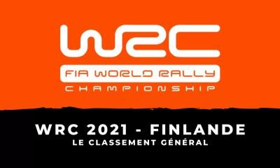 WRC 2021 - Rallye de Finlande - Le classement général