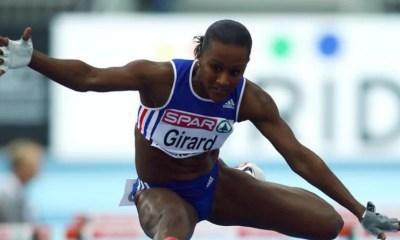 1er mars 1998 : Patricia Girard, championne d'Europe du 60 m haies