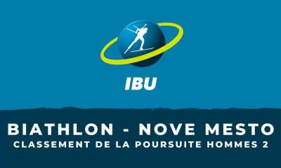 Biathlon - Nove Mesto - Le classement de la deuxième poursuite hommes