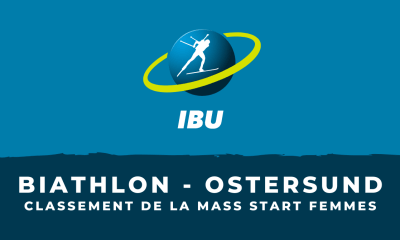 Biathlon - Ostersund - Le classement de la mass start femmes