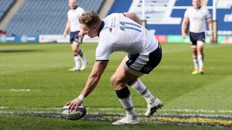 Duhan van der Merwe - Photo Sky Sports