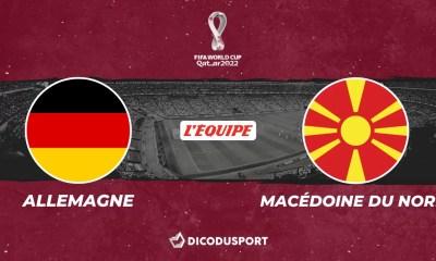 Football – Q. Coupe du monde notre pronostic pour Allemagne - Macédoine du Nord