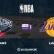 NBA notre pronostic pour New Orleans Pelicans - Los Angeles Lakers