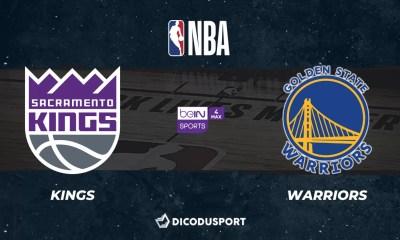 NBA notre pronostic pour Sacramento Kings - Golden State Warriors