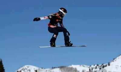 Snowboardcross - Julia Pereira de Sousa deuxième à Bakuriani