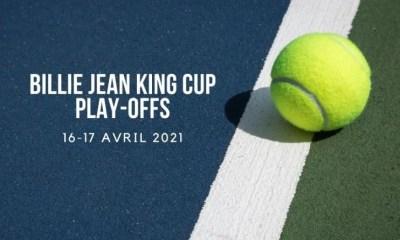 Billie Jean King Cup 2021 - Playoffs - Programme et résultats