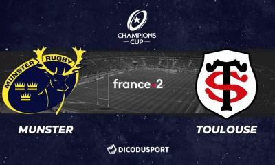 Champions Cup - Notre pronostic pour Munster - Toulouse