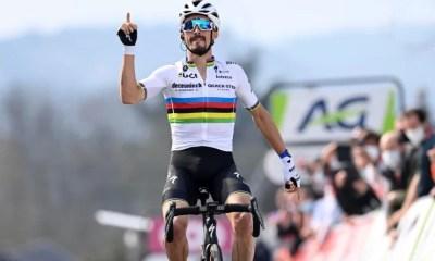 Cyclisme - La Flèche Wallonne - Julian Alaphilippe s'impose pour la troisième fois