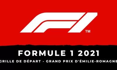 F1 - Grand Prix d'Émilie-Romagne 2021 - La grille de départ