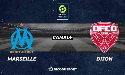 Football - Ligue 1 notre pronostic pour Marseille - Dijon