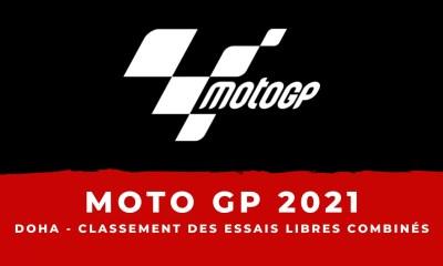 MotoGP - Grand Prix de Doha - Le classement des essais libres combinés